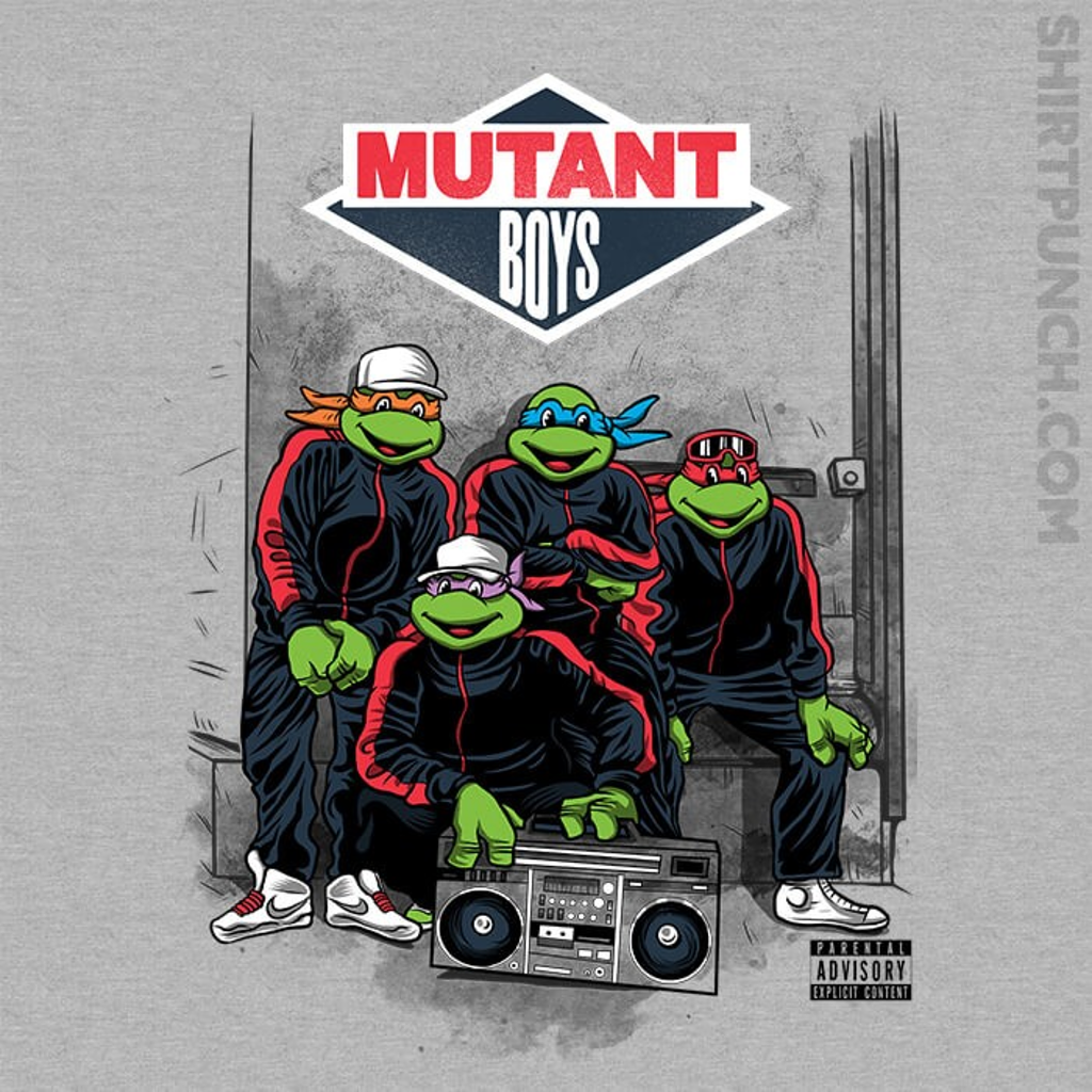 ShirtPunch: Mutant Boys