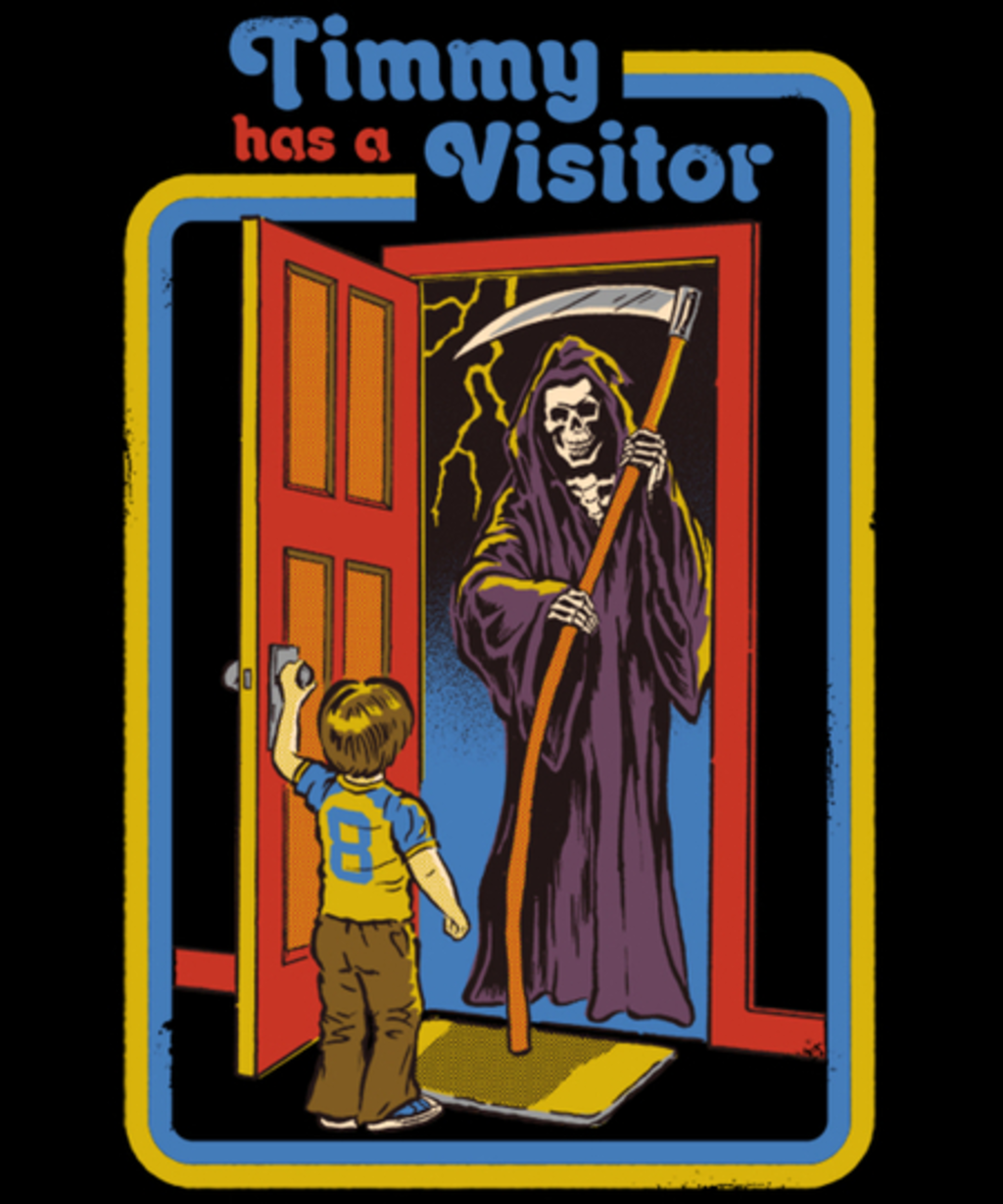 Qwertee: Timmy Has A Visitor