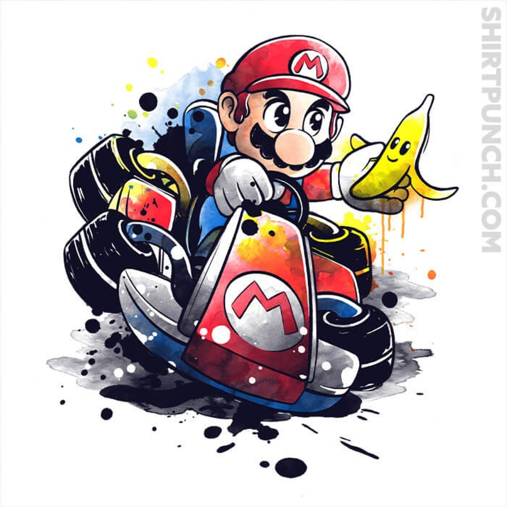 ShirtPunch: Go Kart Watercolor