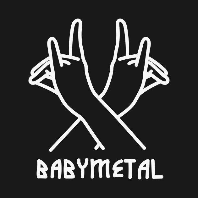TeePublic: fox sign - babymetal
