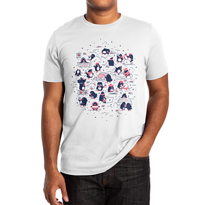 Threadless: Penguin Party