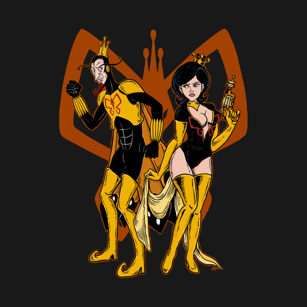 TeePublic: Behold the MONARCH!