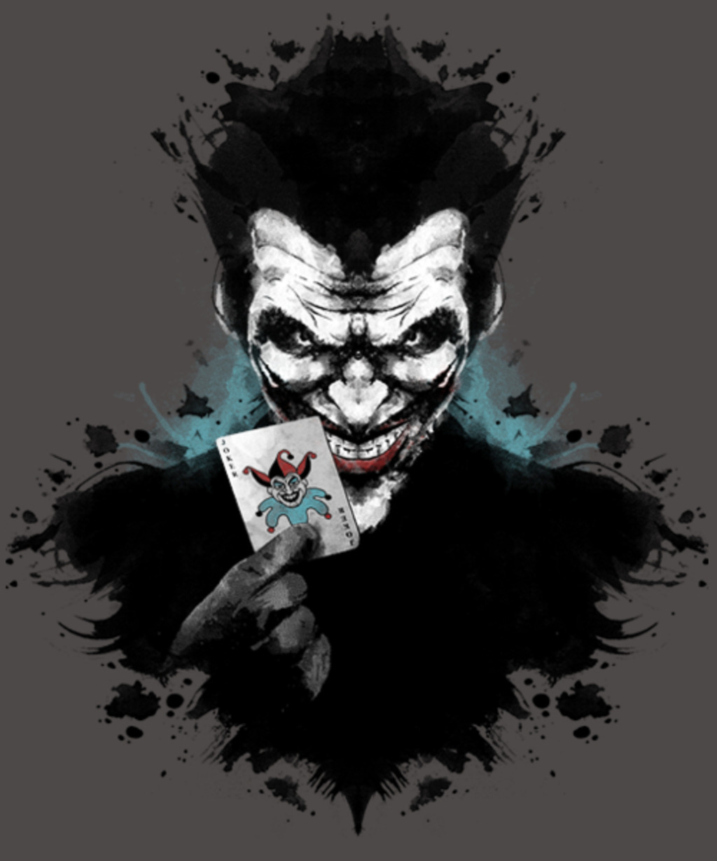Qwertee: Joker Ink