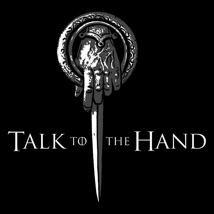 We Heart Geeks: Talk to the Hand - Men's T-Shirt