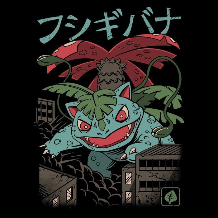 Once Upon a Tee: Grass Kaiju