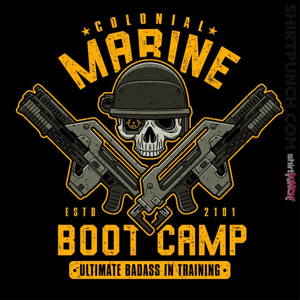ShirtPunch: Colonial Marine Boot Camp