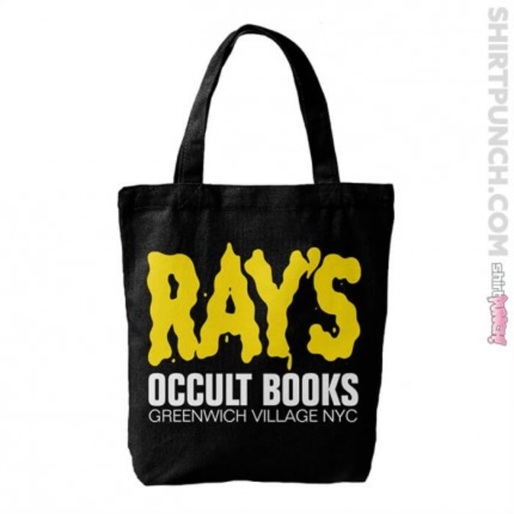ShirtPunch: Ray's Occult Books Tote Bag