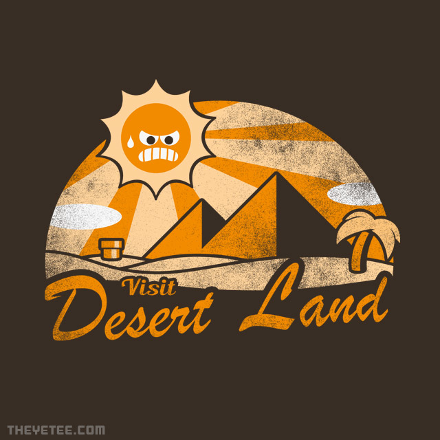The Yetee: Desert Land
