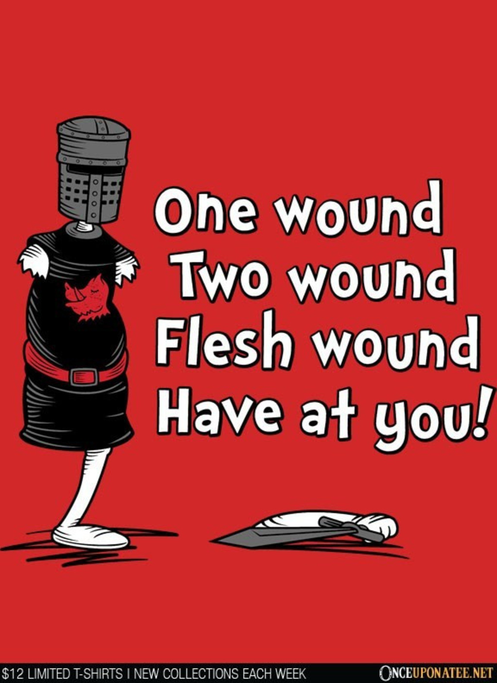 Once Upon a Tee: One Wound, Two Wound