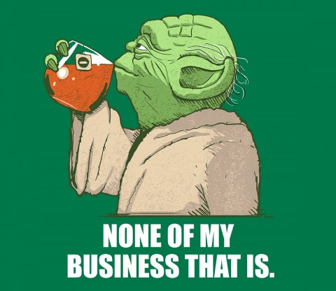 TeeFury: None of my Business That Is