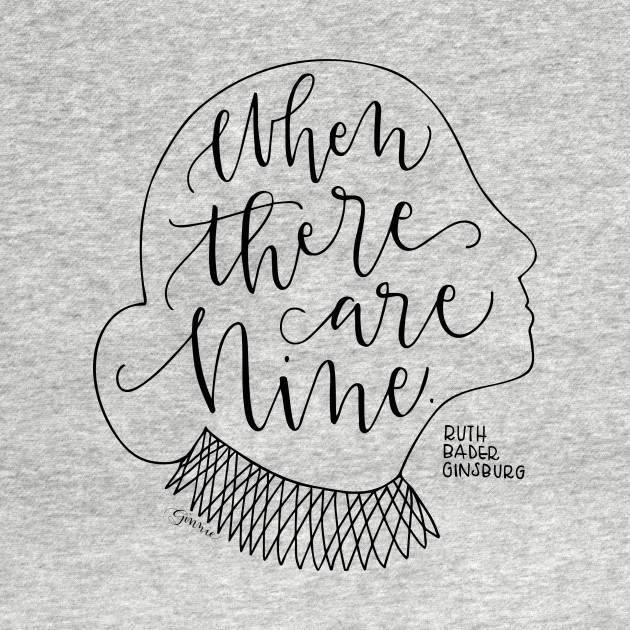 TeePublic: When There Are Nine