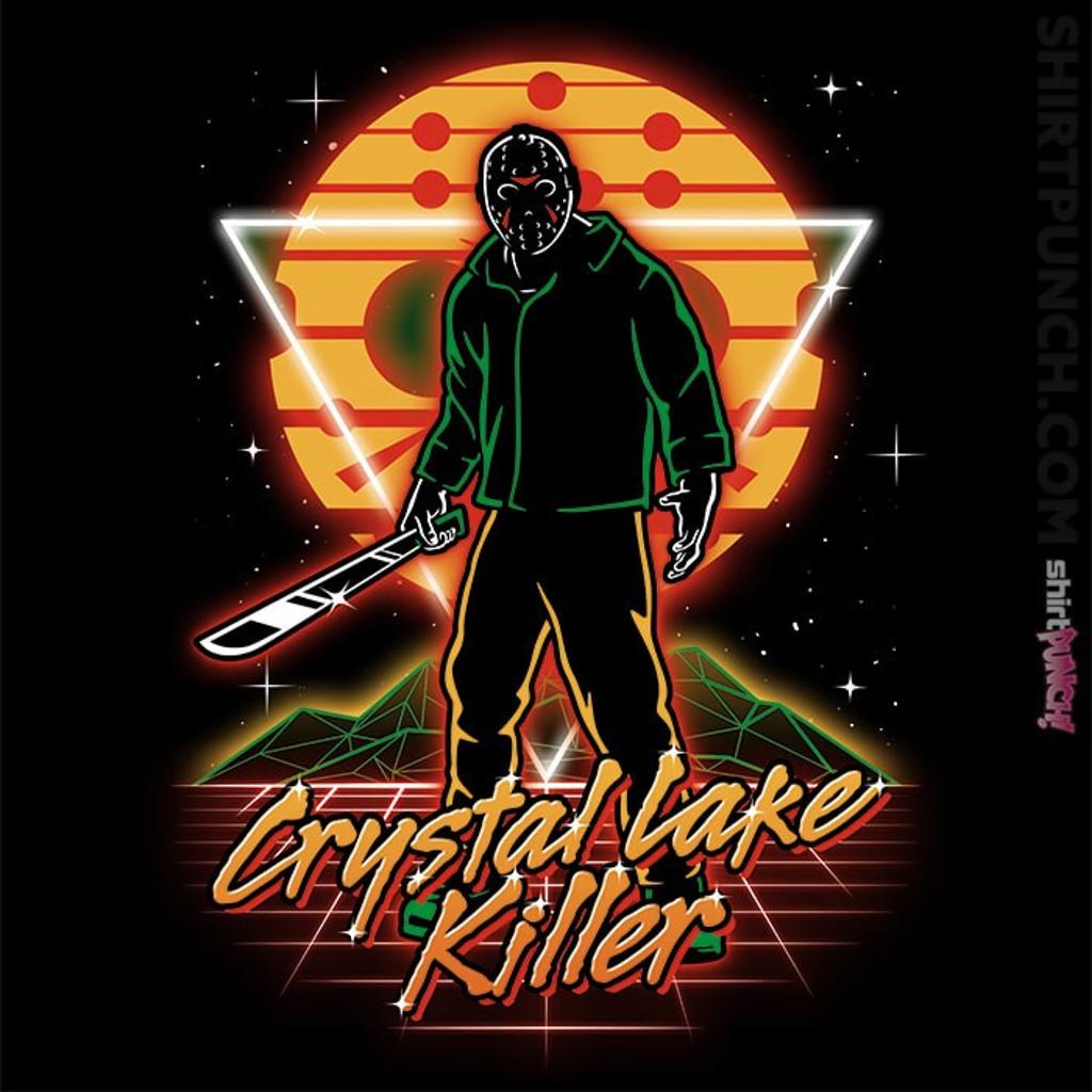 ShirtPunch: Retro Camper Killer