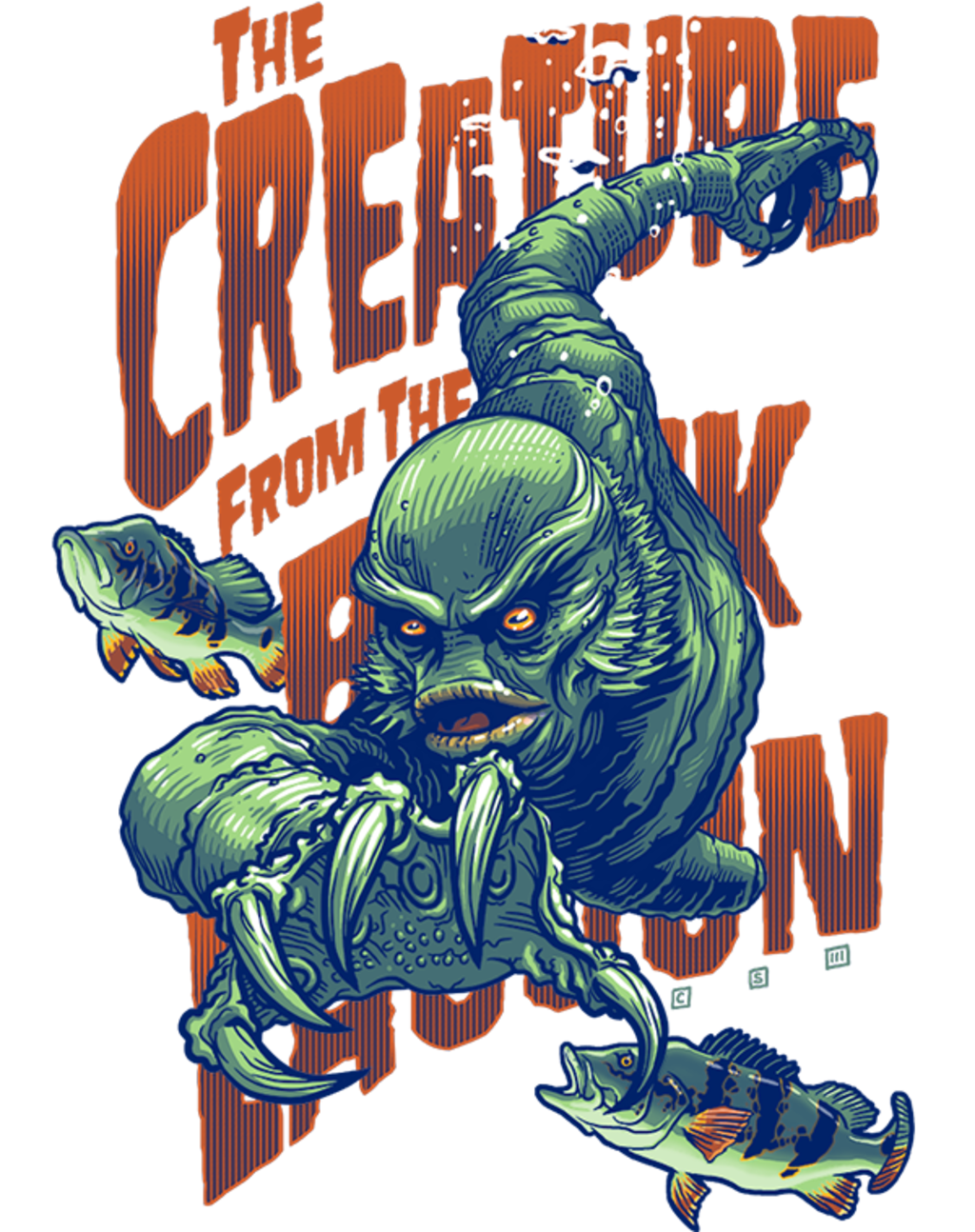 teeVillain: The Creature Returns