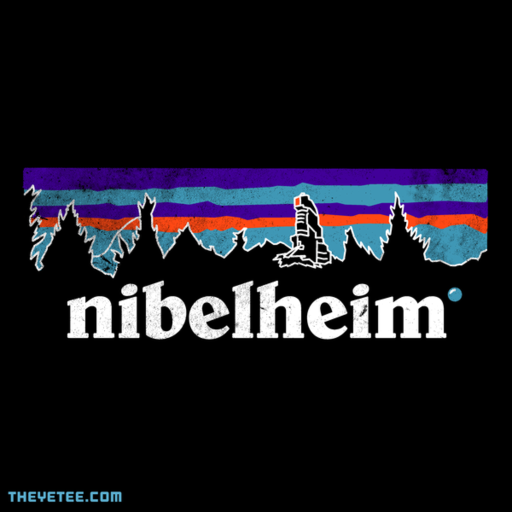 The Yetee: Let's Go Hiking