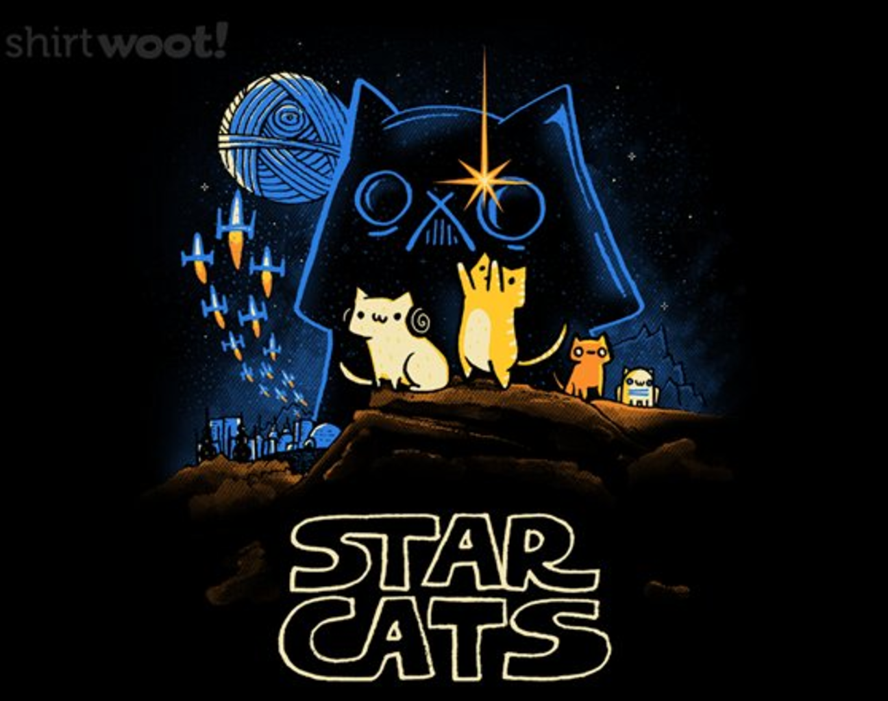 Woot!: Star Cats - $15.00 + Free shipping
