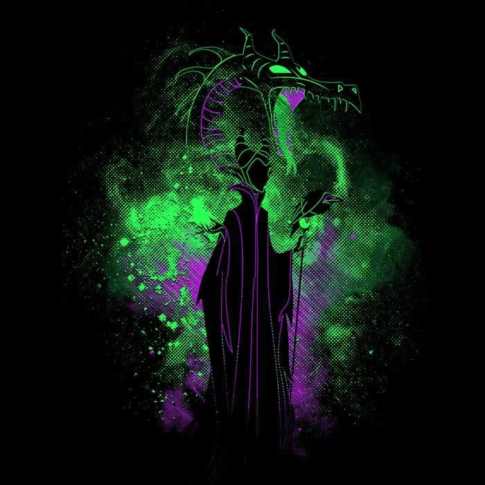 Once Upon a Tee: Evil Fairy Art