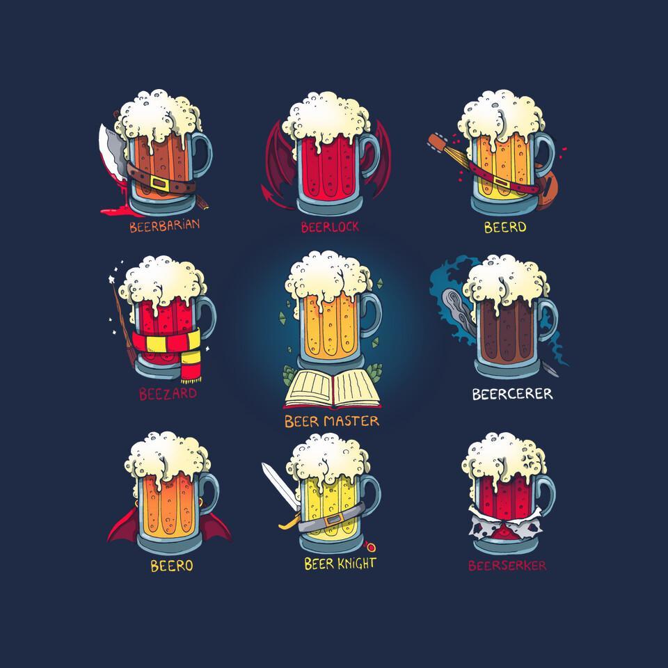 TeeFury: Beer Role Play