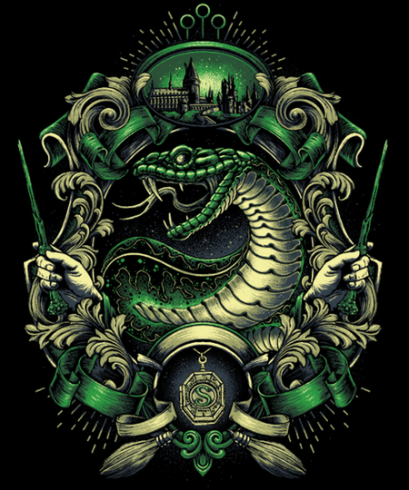 Qwertee: House of the Cunning