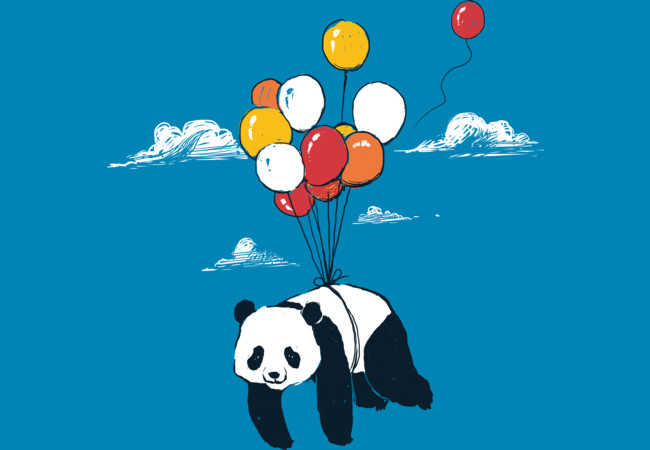 Design by Humans: Flying Panda