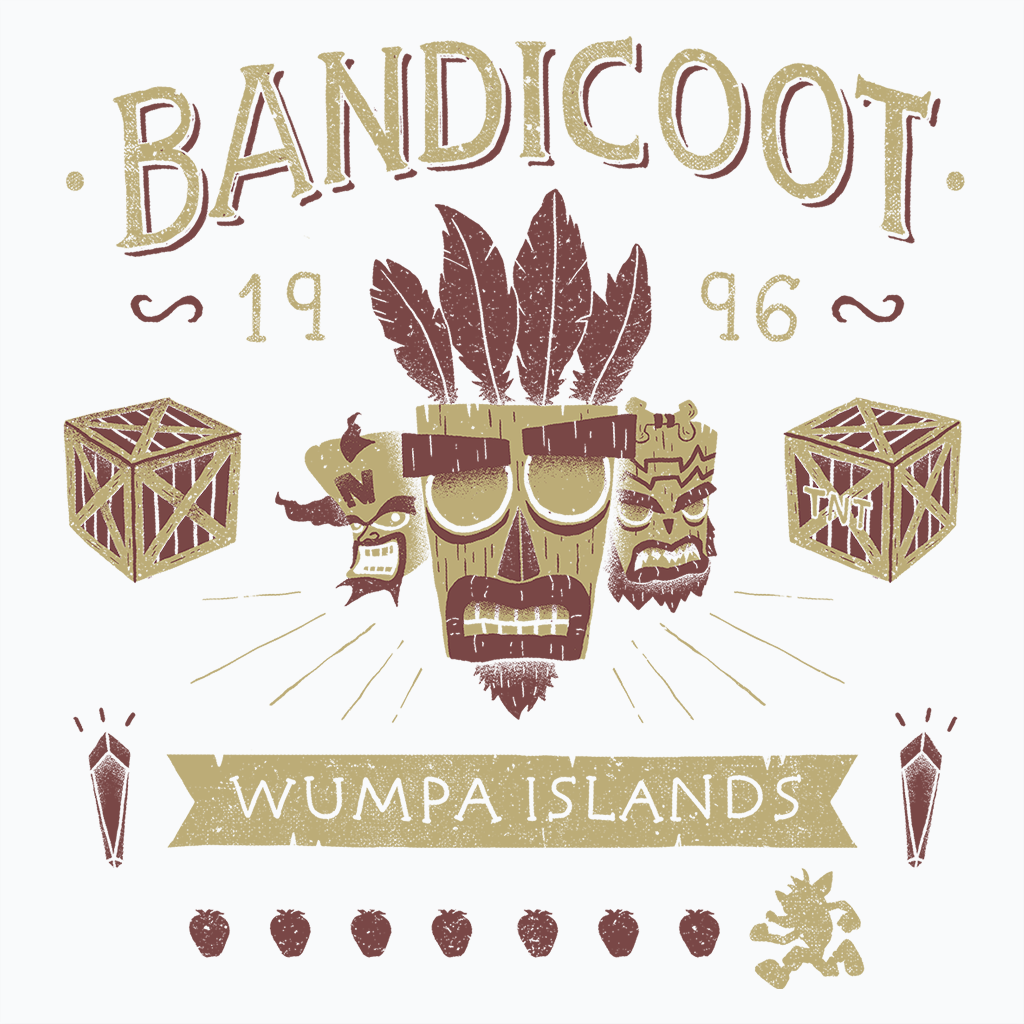 Pop-Up Tee: Bandicoot Time