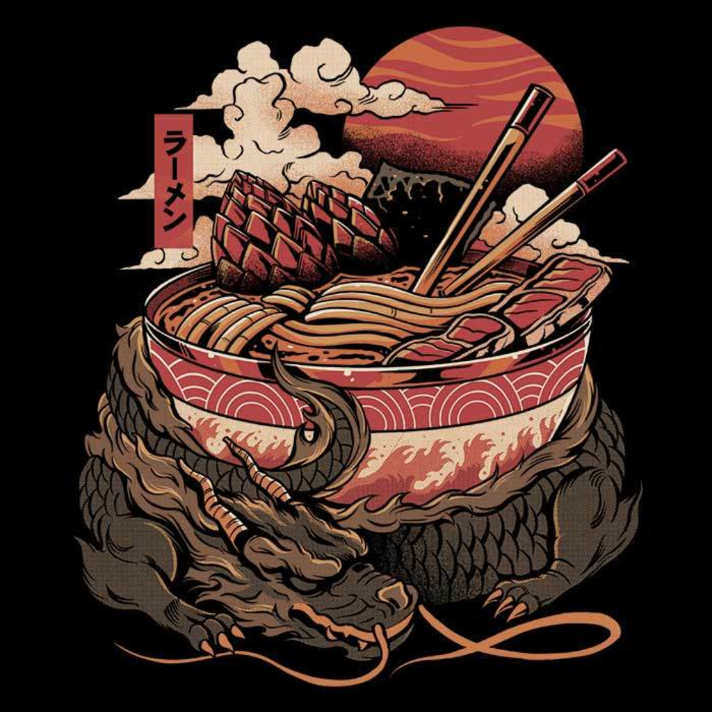 Once Upon a Tee: Dragon Ramen