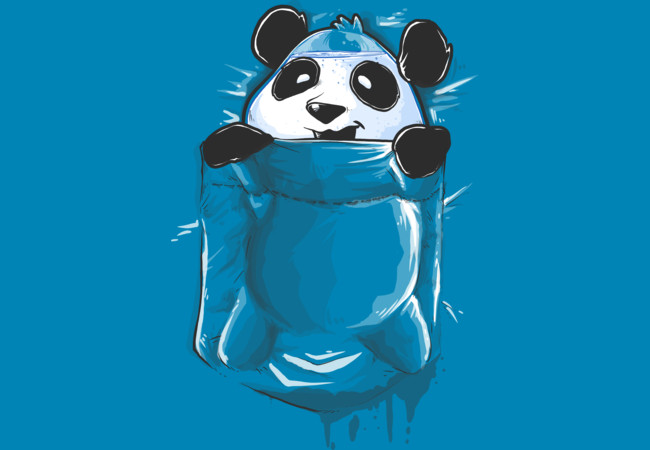 Design by Humans: Pocket Panda