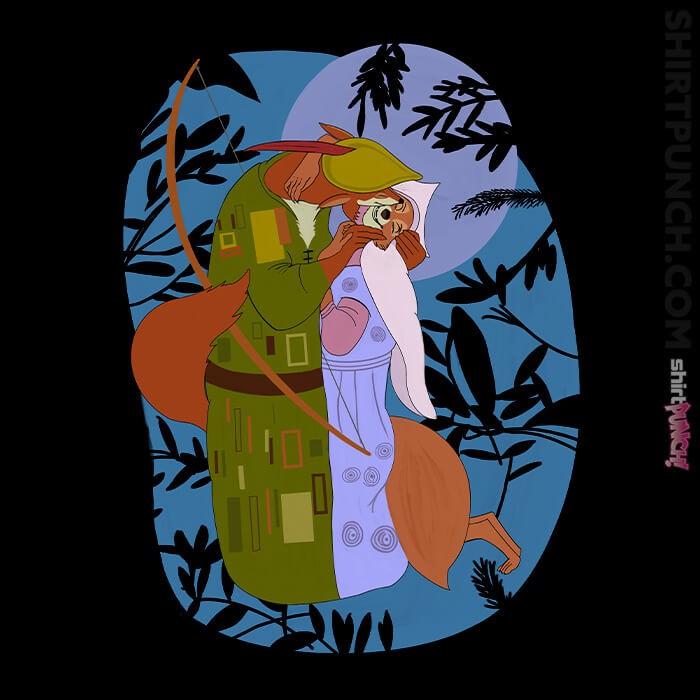 ShirtPunch: Moonlit Klimt
