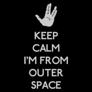 Pop-Up Tee: Keep outer space