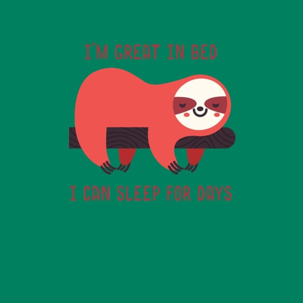 BustedTees: Great In Bed