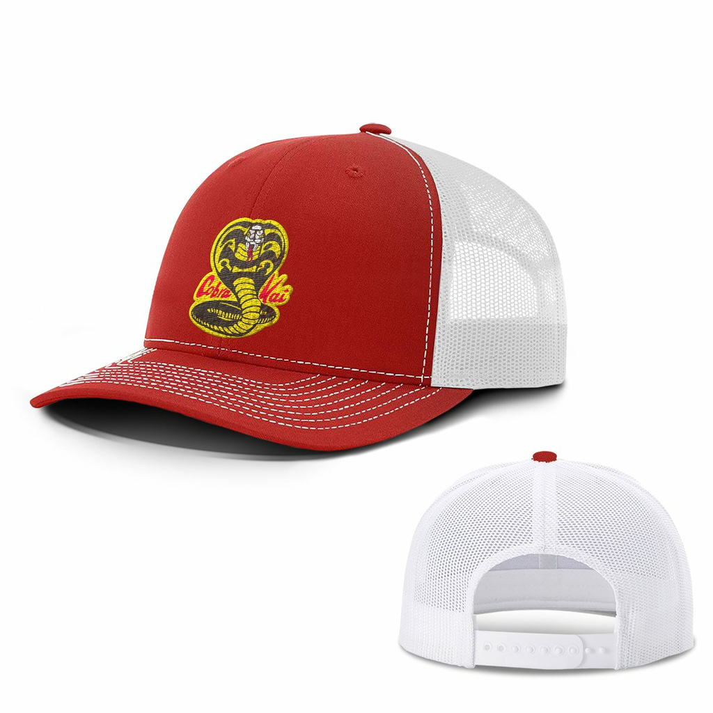 BustedTees: Cobra Kai Hats