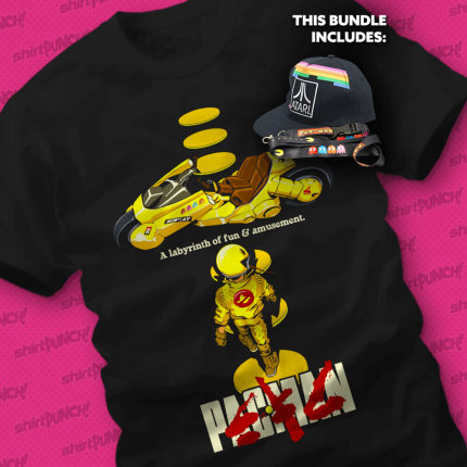 ShirtPunch: Eat the Dots Bundle