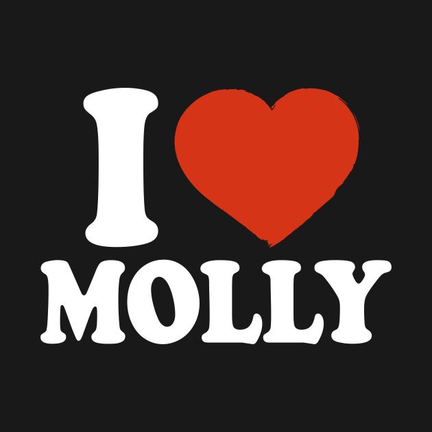 TeePublic: I Love Molly