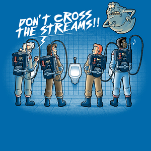 Qwertee: Don't cross the streams