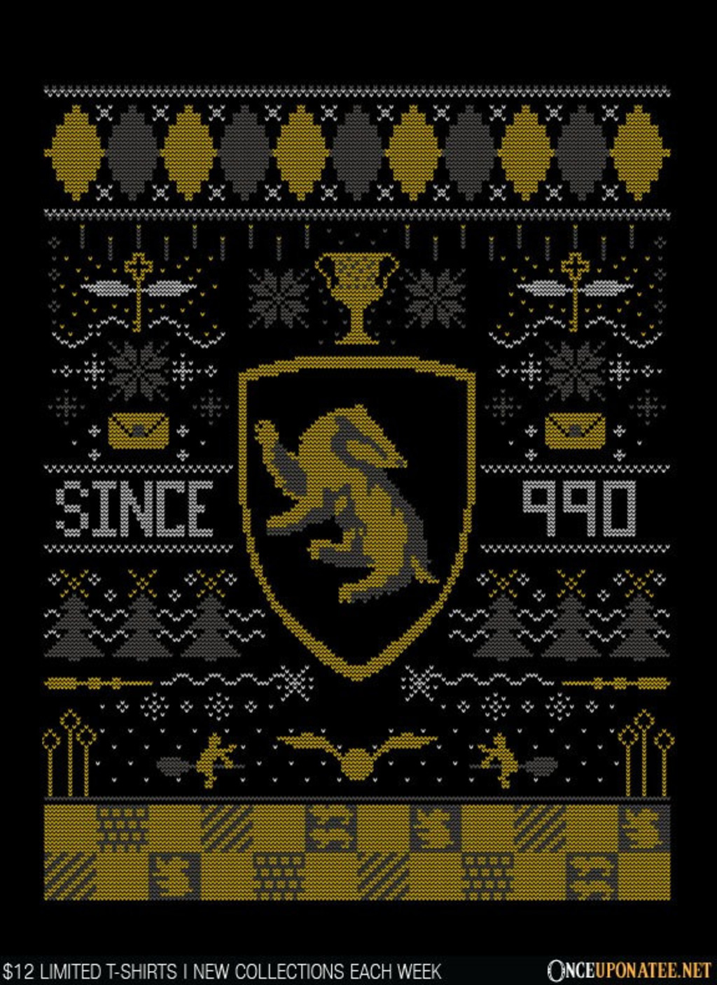 Once Upon a Tee: Ugly Badger Sweater