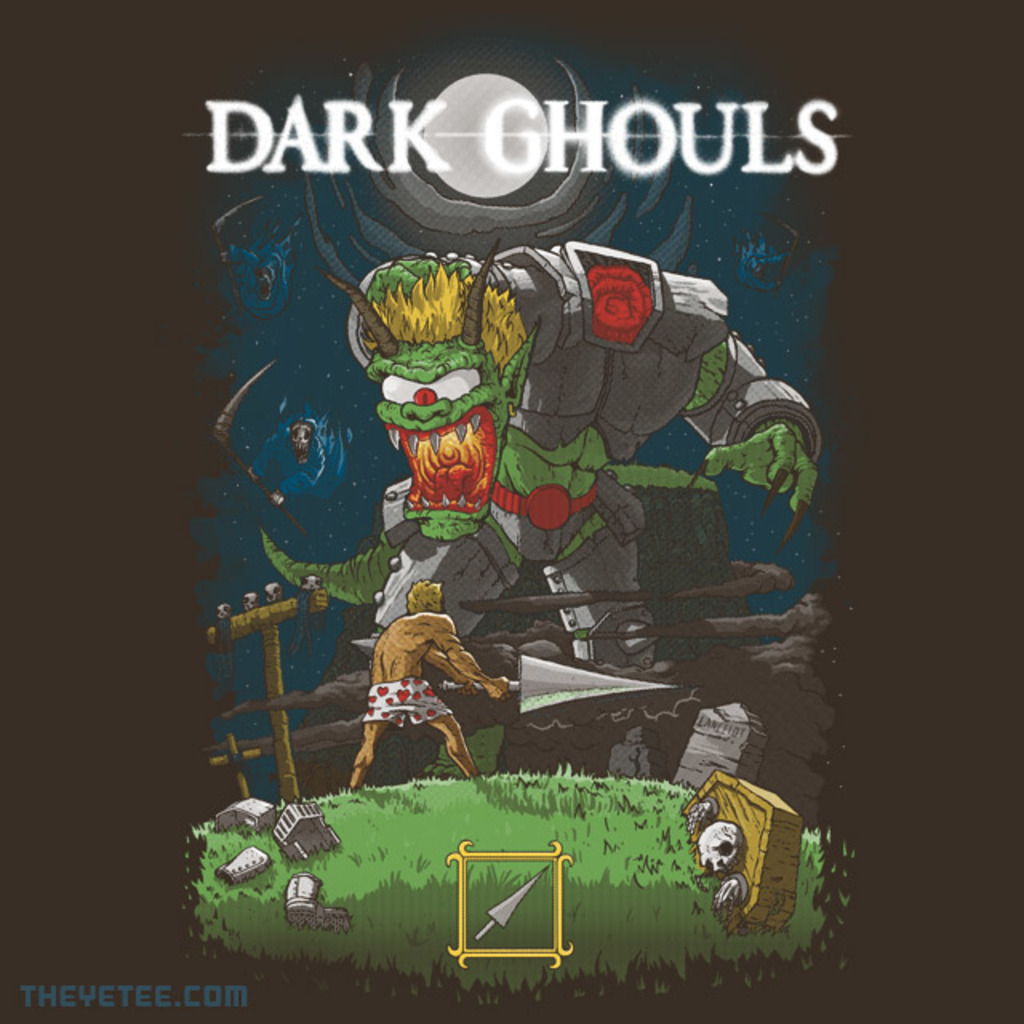 The Yetee: Dark Ghouls