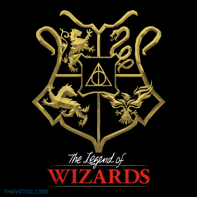 The Yetee: The Legend of Wizards