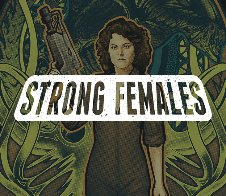 TeeFury: Strong Females Collection