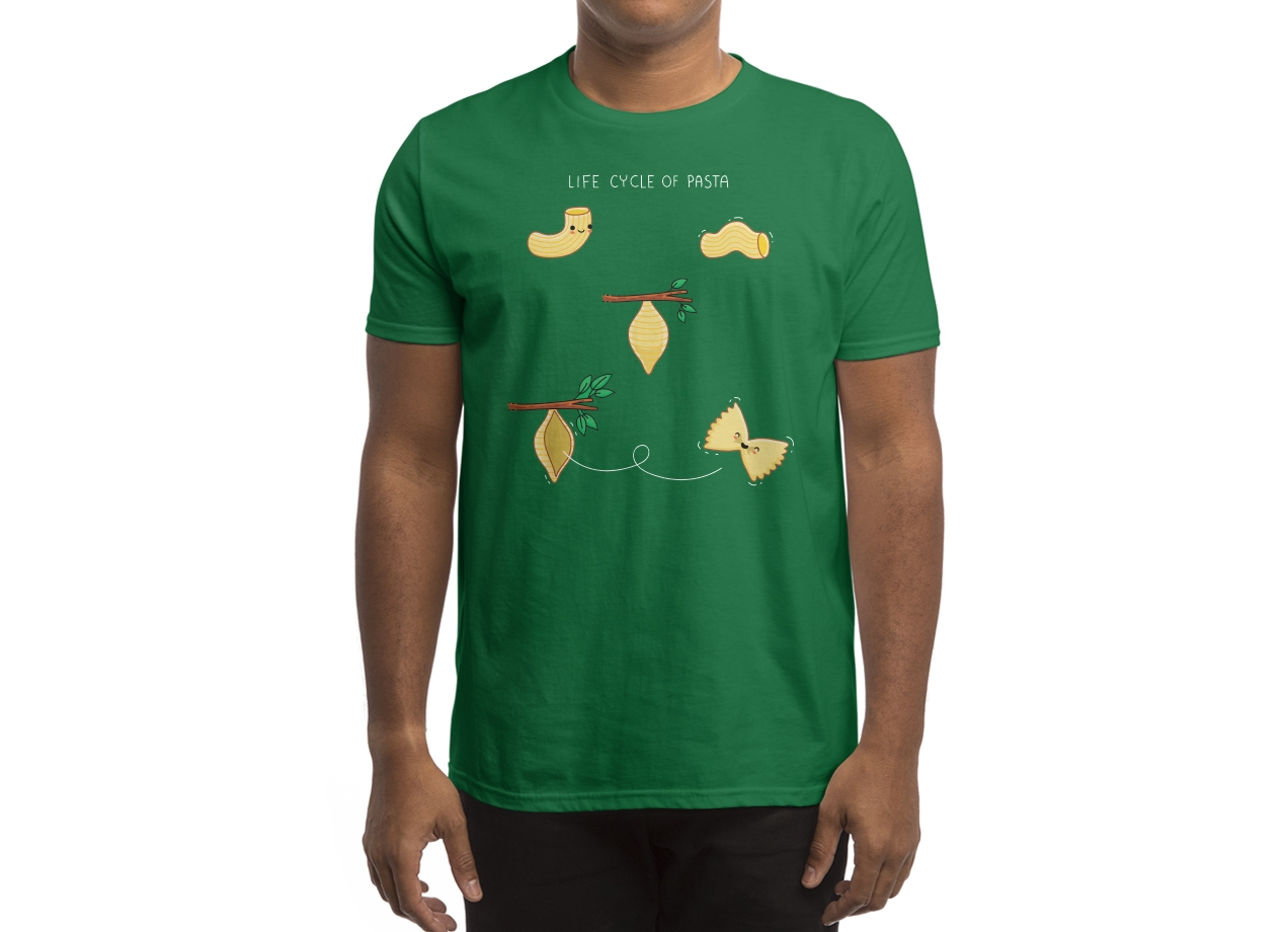 Threadless: Life cycle of pasta