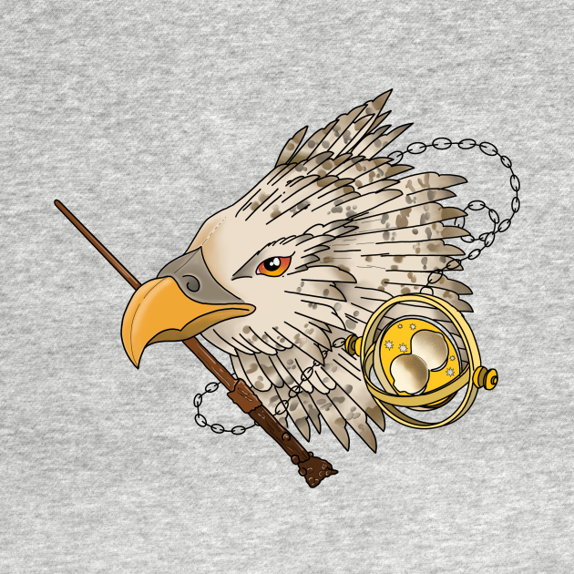 TeePublic: Buckbeak and Time Turner