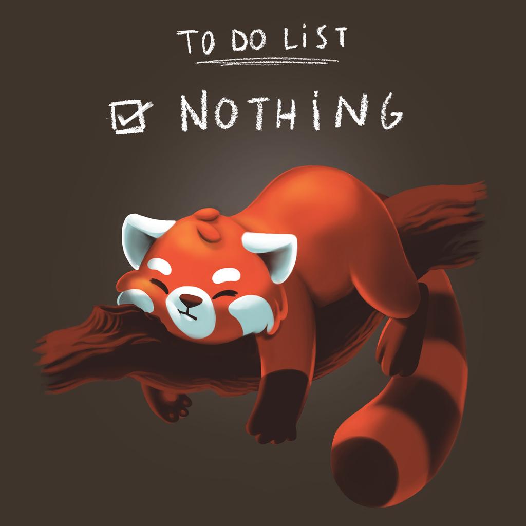 TeeTee: Red panda days