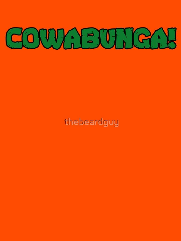 RedBubble: Cowabunga!