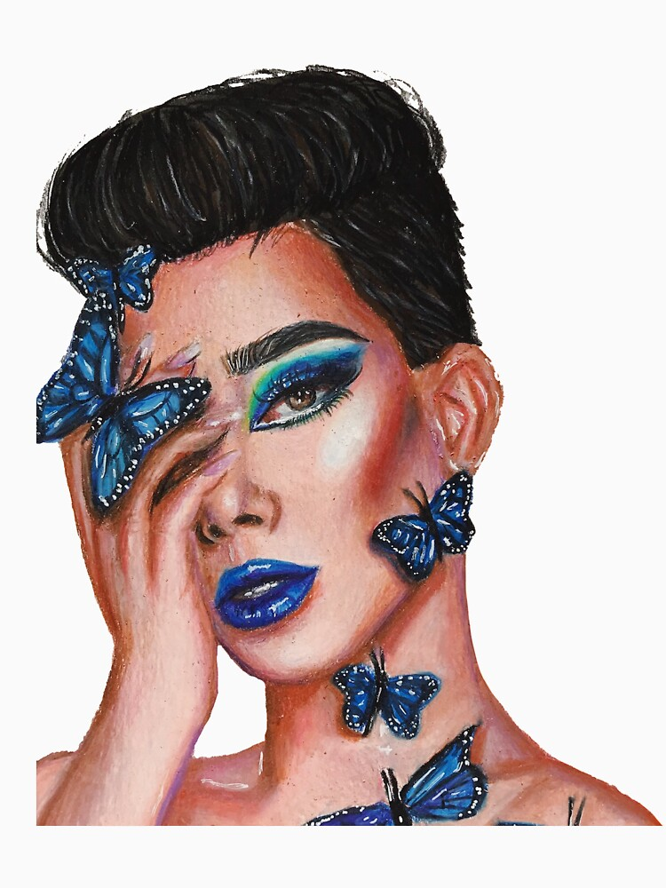 RedBubble: James Charles: Butterfly