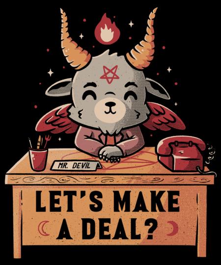 Qwertee: Let's Make a Deal?
