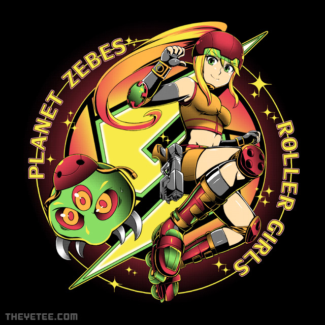 The Yetee: Zebes Roller Girls