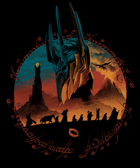 Qwertee: Fiery Mountain Quest