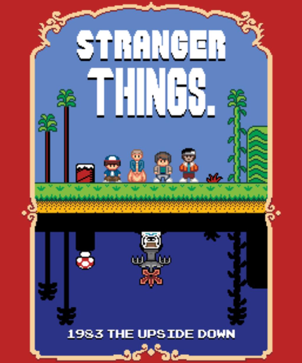 Qwertee: Stranger Bros 2