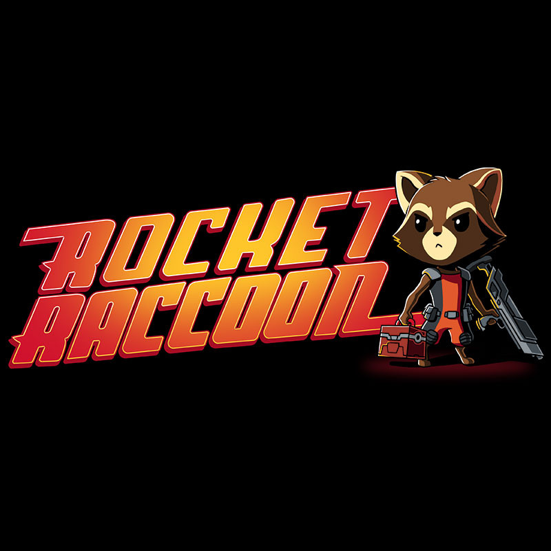 TeeTurtle: Rocket Raccoon Shirt