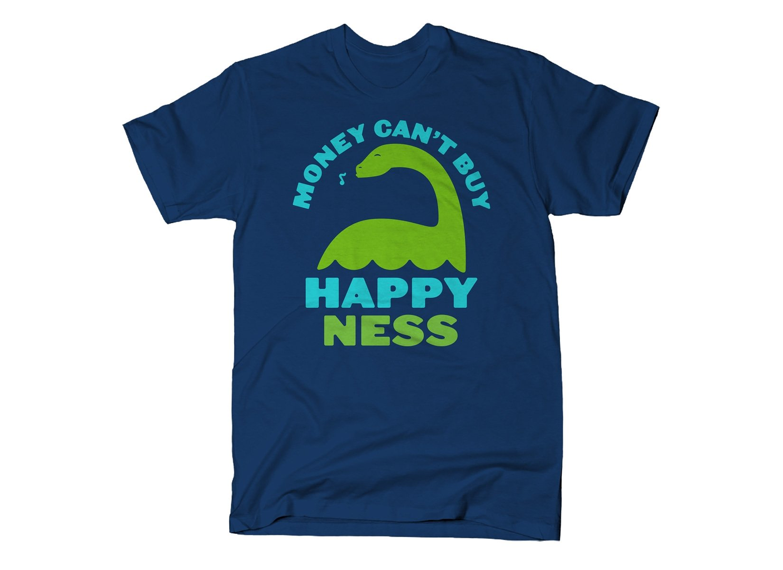 SnorgTees: Money Can't Buy Happy Ness