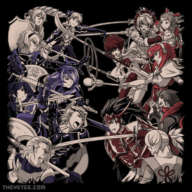 The Yetee: All Out War