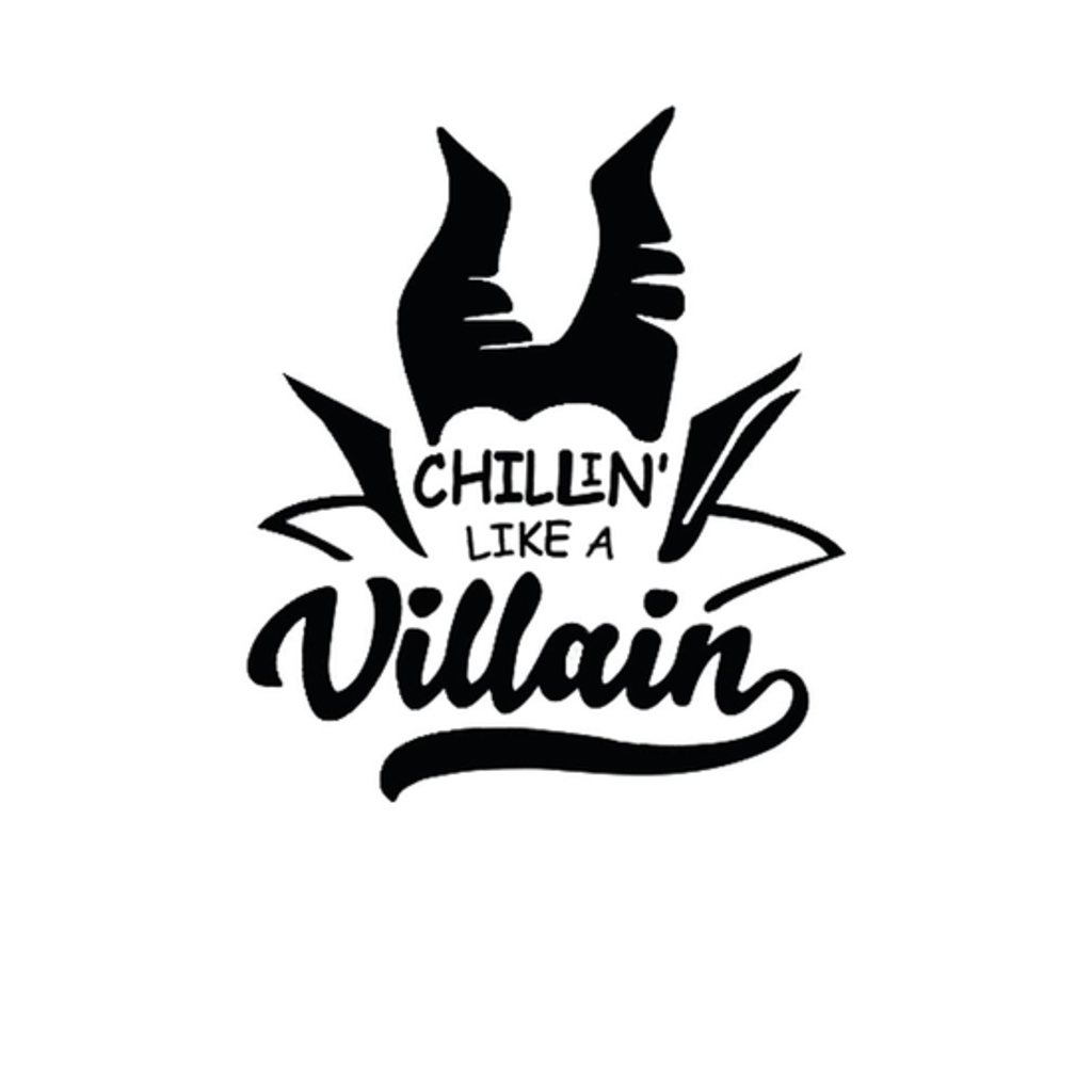 BustedTees: Chillin Like A Villain